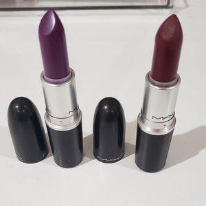 MAC matte lipsticks - Heroine & Diva